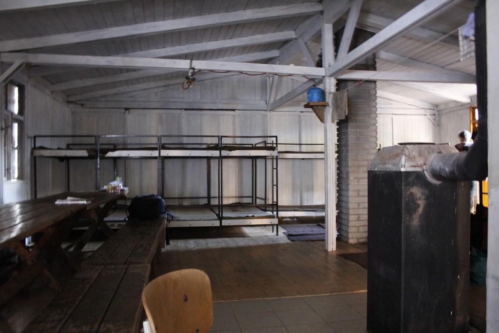 Velká místnost v chatě č. 1